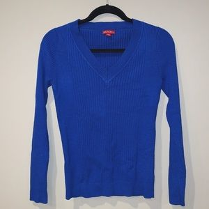 Merona | Women's V-Neck Royal Blue Sweater
